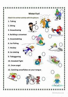 winter words worksheets 20121 what can we do in the winter worksheet free esl printable worksheets made by teachers