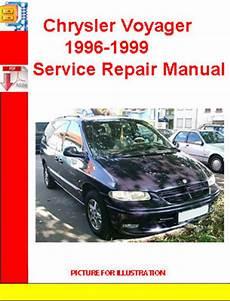 car repair manuals online pdf 1999 chrysler 300 parking system chrysler voyager 1996 1999 service repair manual download manuals