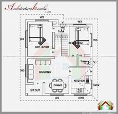 2 bedroom house plans in kerala model 2 bedroom house plan and elevation in 700 sqft