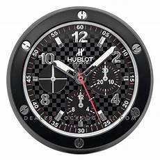 hublot wanduhr big serie carbon fibre chronographen