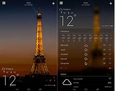 meteo yahoo top applications m 233 t 233 o android