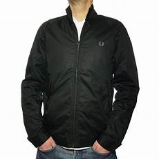 buy fred perry mens harrington jacket in black fred perry