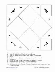 paper fortune teller printable worksheets 15712 paper fortune tellers technique for student engagement coping skills activities coping