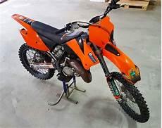 Ktm 125 Ccm - ktm sx 125 ccm zweitakt motocross rennmaschine