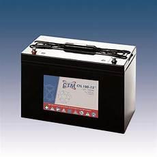 Ctm Agm Batterie Bleiakku Ctl100 12 12 Volt 100 Ah