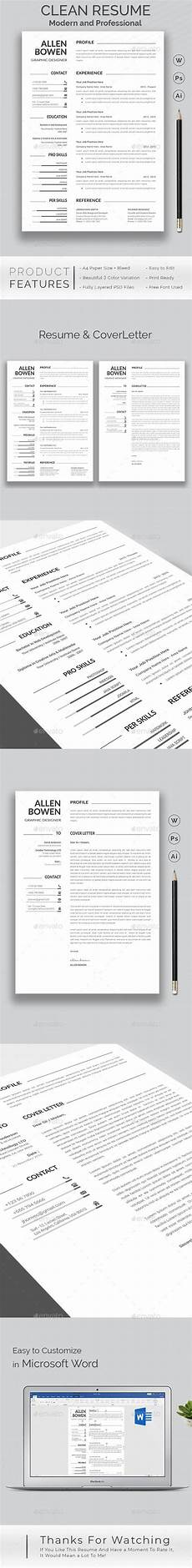 resume special features of this resume template a4 international size with bleed quick and easy
