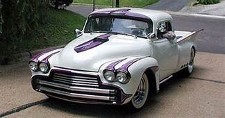 Spence Murrays 50 Chevy 3100 Pickup  Aka The Rod