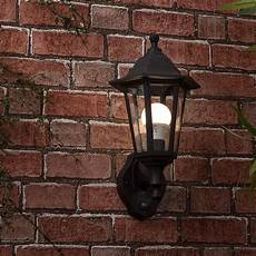 traditional style black outdoor security dusk to dawn ip44