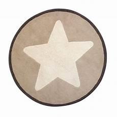 Teppich Star Beige Gro 223 Er Stern 120 Cm Von Kids Concept Kaufen