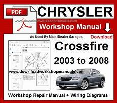 download car manuals pdf free 2006 chrysler crossfire roadster security system chrysler crossfire workshop service repair manual download