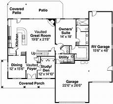 house plans with rv garage attached i really like this first floor layout clean use of the