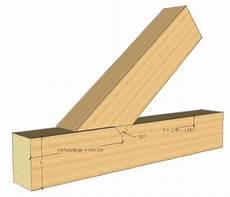 Holzbalken Verbinden Kreuzung Mit Einem Zapfenblatt Ideen