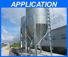 galvanized metal grain silo chicken feed storage poultry farming equipment buy grain silo