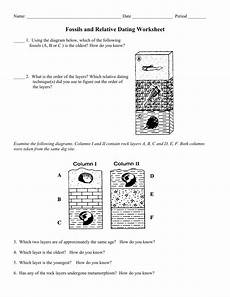 earth science relative dating worksheet 13274 earth science relative dating worksheet mr leigh 2019 08 22