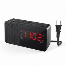 Display Dual Alarm Clock Dual Units by Dalpong Dual Alarm Clock Radio Digital Am Fm Radio Alarm
