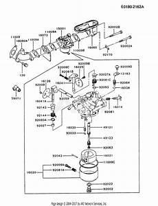 Kawasaki Fb460v Bs28 4 Stroke Engine Fb460v Parts Diagram