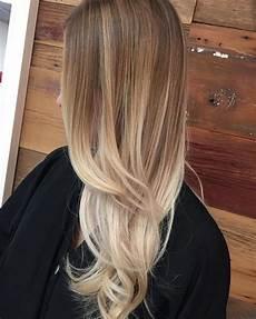 ombre blond farbgestaltung lange glatte haare ideen locken - Ombre Glatte Haare