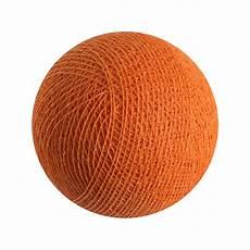 boule pour guirlande lumineuse boule pour guirlande lumineuse l original orange la de cousin paul