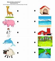 animals and their habitat worksheets for kindergarten 14167 year 2 oakfield community primary school