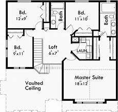 two story house plans with walkout basement upper floor plan for 10012 house plans 2 story house