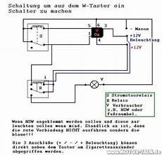 relais schaltung nachtr 228 glich eingebauten taster