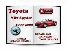 car repair manuals online pdf 2000 toyota mr2 windshield wipe control pay for toyota mr2 spyder 1999 2007 service repair manual