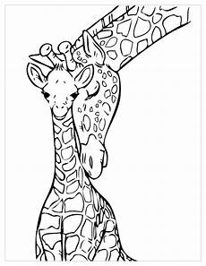 giraffes for children giraffes coloring pages