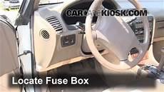 Interior Fuse Box Location 1993 1996 Lexus Es300 1993