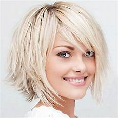 short haircuts for fine hair round face hairstyle ideas in 2018