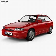opel astra f 3 door gsi 1991 3d model vehicles on hum3d