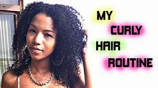 my curly hair routine quot natural hair care quot youtube