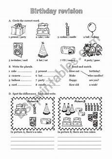 happy birthday worksheets esl 20219 happy birthday 6 of 6 esl worksheet by laurabar