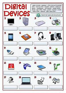 digital devices worksheet free esl printable worksheets made by teachers