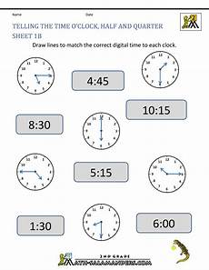telling time free worksheets for grade 1 3566 process webquest