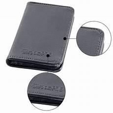 Mens Wallet Business Card Holder 2 Sided Credit Card