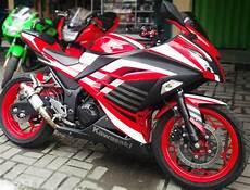 250 Karbu Modif Simple by Modifikasi Motor 250 Fi Warna Merah Modifikasi Jakarta
