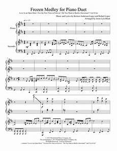 piano and guitar duet sheet music free frozen medley for piano duet sheet music direct