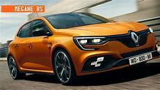 2018 renault megane rs revealed price release specs
