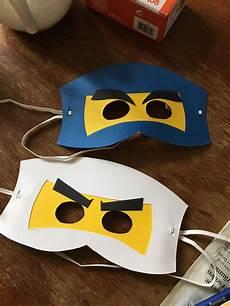 Ninjago Malvorlagen Augen Quiz Ninjago Masken Aus Pappe Geburtstag Ninjago Maske