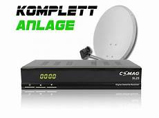 Comag Digitale Single Sat Anlage Komplett Set Sl 25