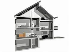 Split Level Bauweise - splitlevel