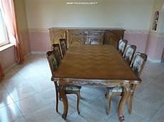salle à manger louis xv salle 224 manger en ch 234 ne massif style louis xv