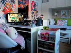 Aesthetic Anime Bedroom Ideas by Looks Like Ikea Designed An Otaku Room