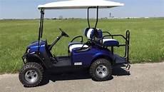 2016 E Z Go Express S4 Gas Golf Car Electric Blue Located