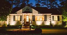 architectural lighting brings white ranch back to life at outdoor lighting perspectives