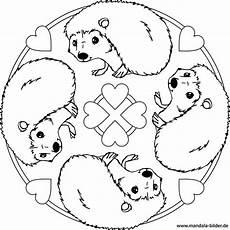 mandala igel kostenlose ausmalbilder f 252 r kinder