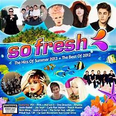 list best 2013 so fresh summer 2013 best of 2012 various cd sanity
