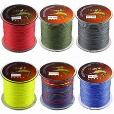 Titanline 6pcs Different Colors High Titanline 6pcs Different Colors High Grade Fiber Pe Briad