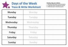 free worksheets days of the week 18835 days of the week worksheets guruparents