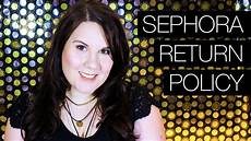 can you return things to sephora without a receipt what can you return to sephora return policy youtube